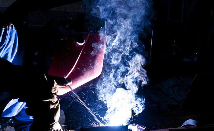 how to reduce welding gases and fumes for welders at work